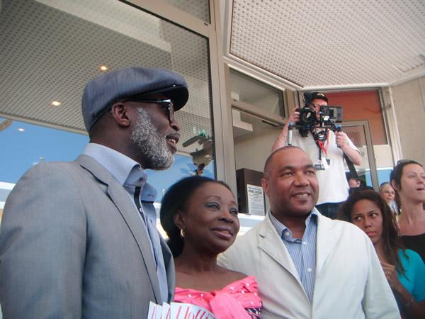 Eddie Mbalo honoured in Cannes
