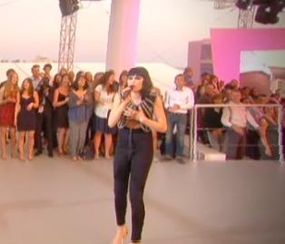 Jessie J rocked on the Cannes beachfront