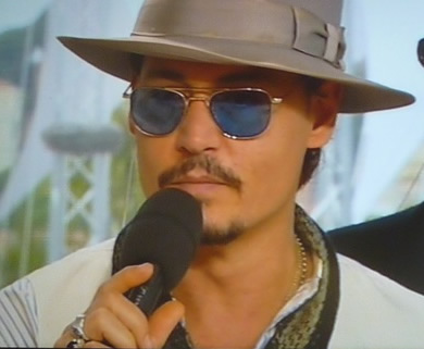Johnny Depp - irresistably cool in Cannes