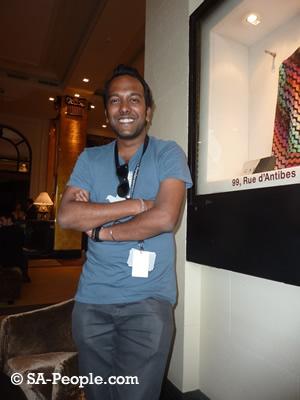 Nashen Moodley from the Durban International Film Festival