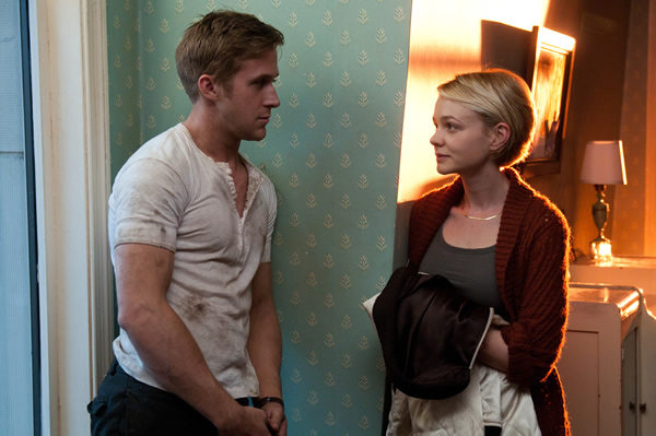 Ryan Gosling and Carey Mulligan in 'Drive'