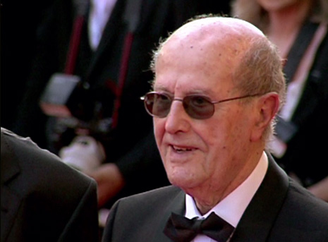 Gilles Jacob at the screening of A Special Day on the red carpet at the Cannes Film Festival