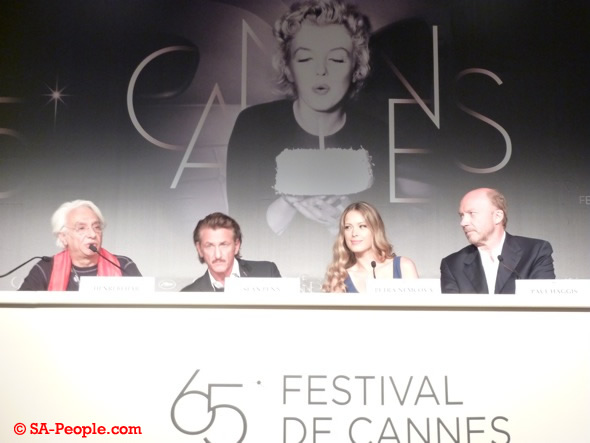 Haiti Press Conference at Cannes Film Festival