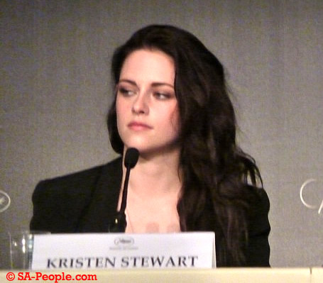 Kristen Stewart at today's press conference