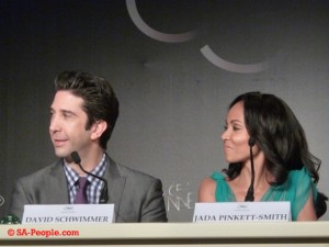 Madagascar 3's David Schwimmer and Jada Pinkett Smith at the Cannes Film Festival