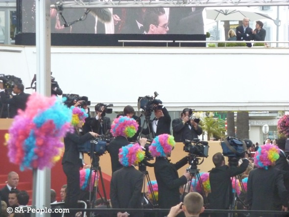 Photographers at Madagascar 3 premiere at the Cannes Film Festival 2012