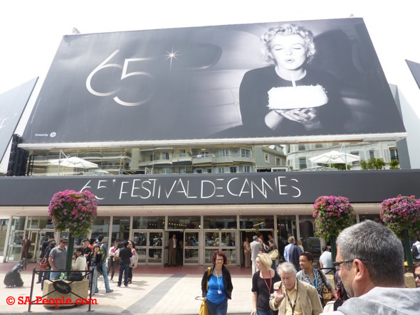 Cannes Film Festival Press section pic