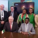 Irish/SA Treaty Signed at SA Pavilion in Cannes