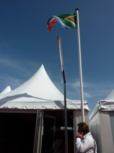 The South African Pavillion, Cannes