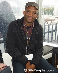 South African actor and producer David Kau