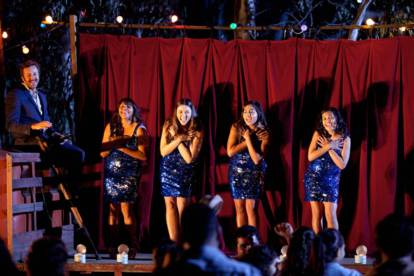 The Sapphires with Chris O'Dowd, Jessicas Mauboy, Deborah Mailman, Shari Sebbens, Miranda Tapsell