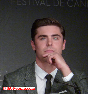 Zac Effron photo at press conference in Cannes