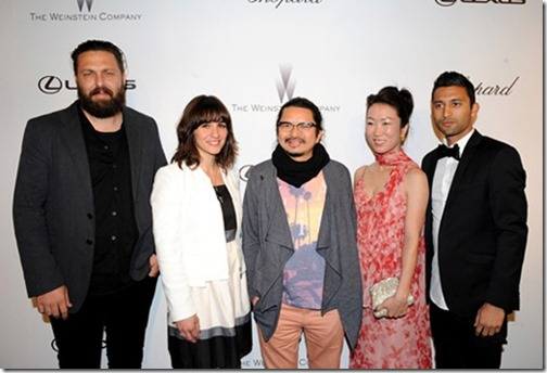 Lexus Weinstein Short Film colllaboration Cannes Film Festival