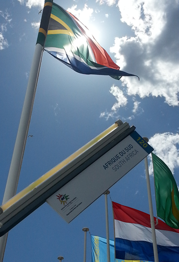 South Africa - flying the flag in Cannes